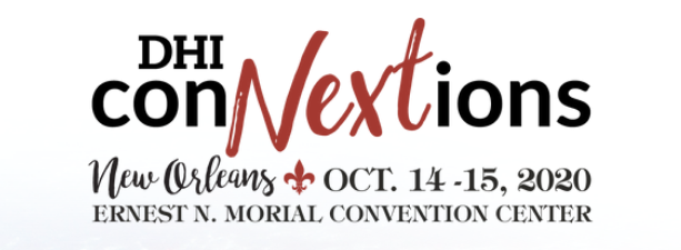 The DHI Connextions Show is in Cleveland, OH November 6-8.
