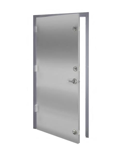 SAFER ROOM UNIT HOLLOW METAL DOOR